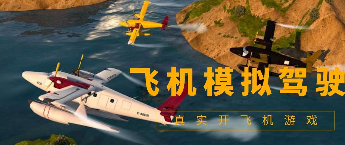 超真实的飞机模拟驾驶游戏
