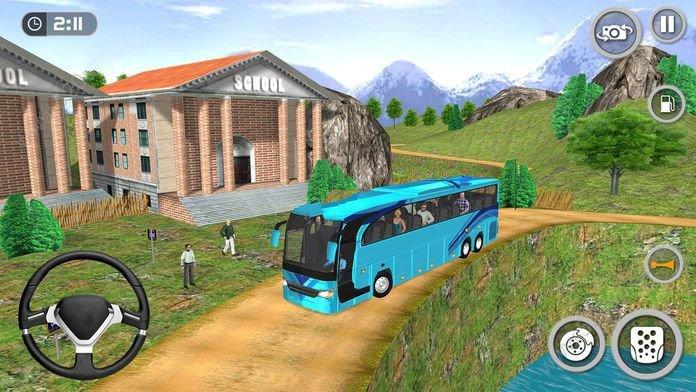 公共汽車客運模擬圖1