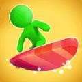 橡皮人冲浪比赛