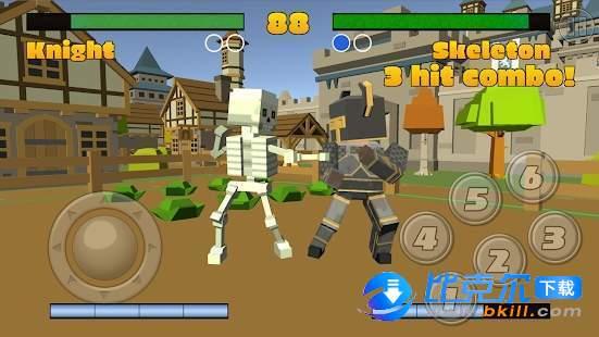 Pixel Fighting 3D圖2