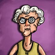 發抖老奶奶