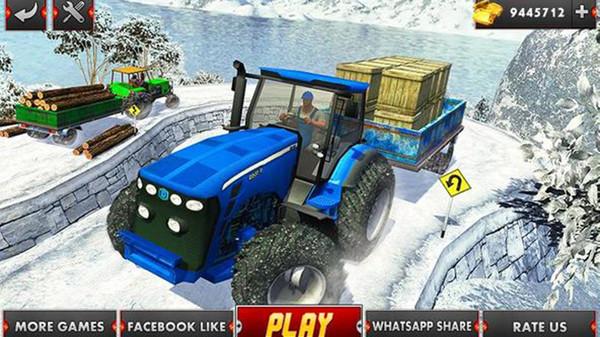 农业拖拉机驾驶模拟图2