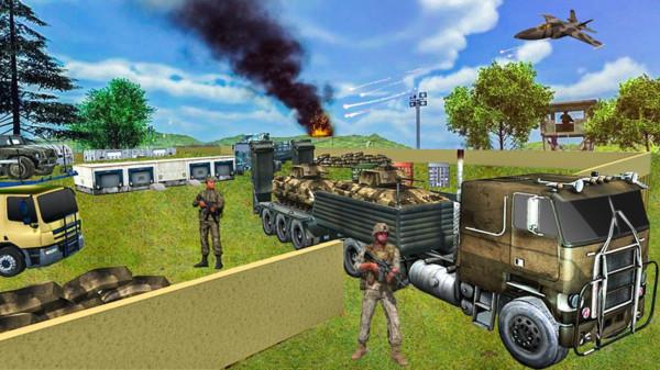 美軍貨車駕駛模擬器圖1