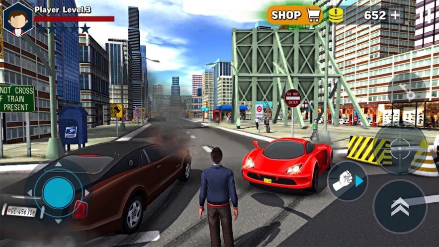 拉斯维加斯城枪战3D图1