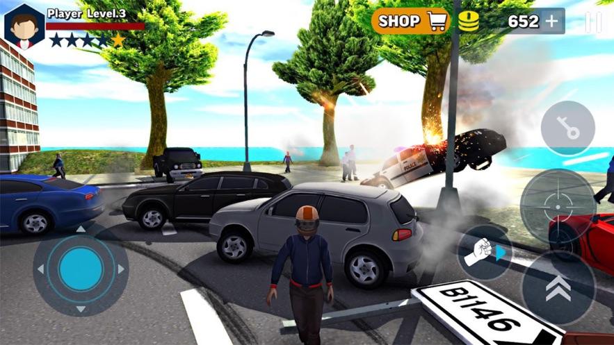 拉斯维加斯城枪战3D图2