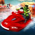 噴氣滑雪水上賽車3D