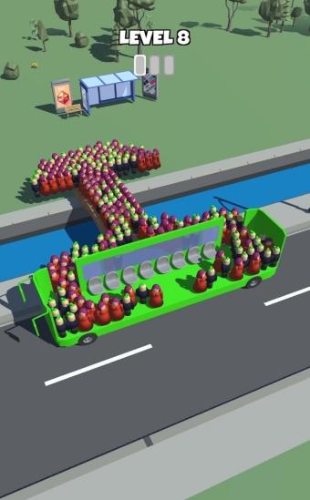 上班挤公交抖音版图3