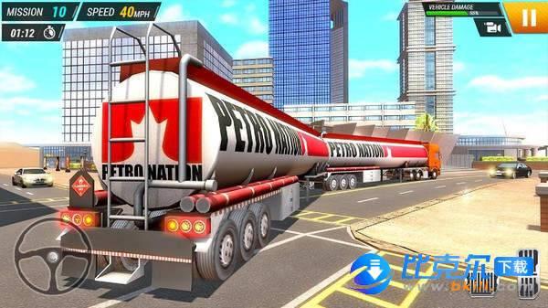 城市卡车司机模拟器图1