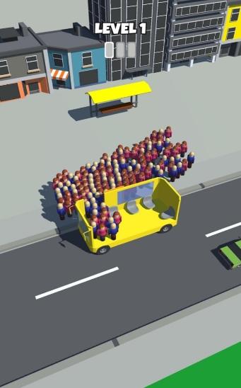 上班挤公交抖音版图2