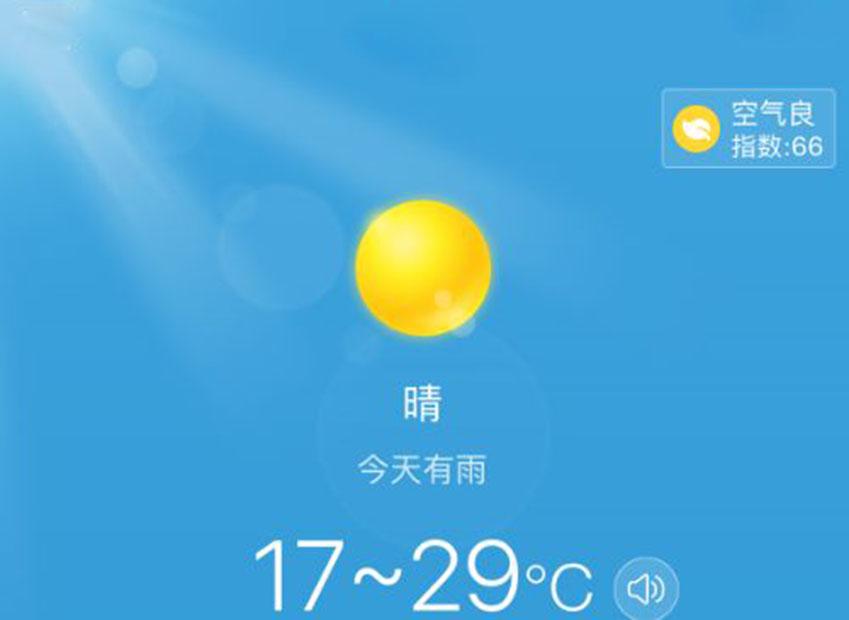好用的天气预报app大全