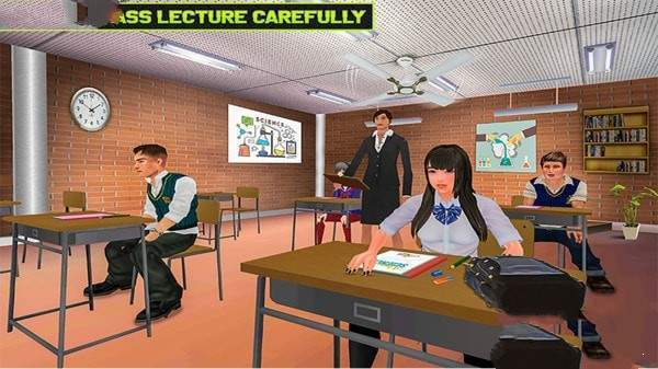 虚拟高中生活模拟器图1