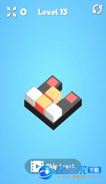 立方体迷宫图2