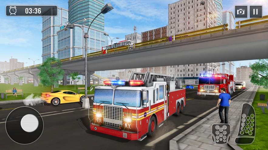 冬季救援消防車圖3