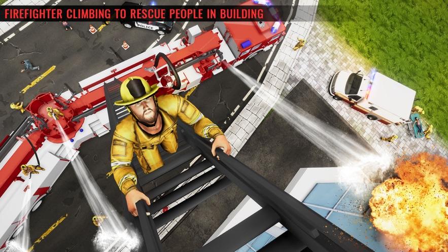 冬季救援消防車圖1