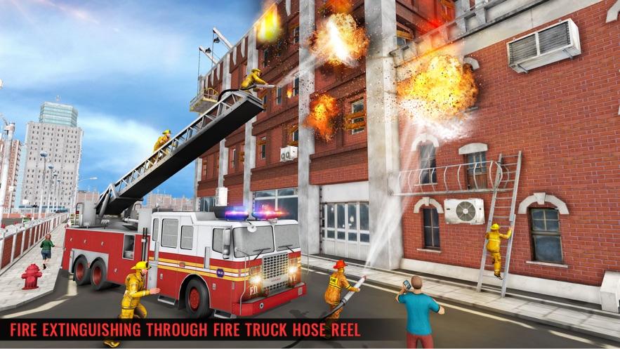 冬季救援消防車圖5