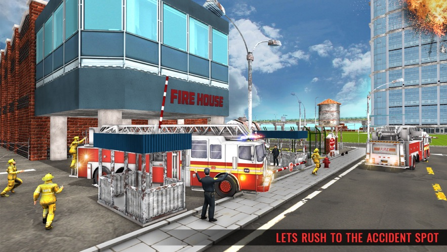 冬季救援消防車圖2