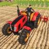 真实耕作拖拉机3D