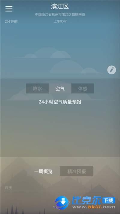 快乐彩云天气图1