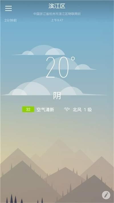快乐彩云天气图3