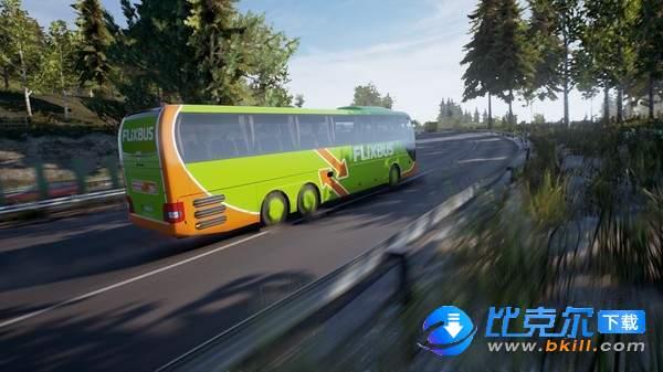 长途客车模拟图10