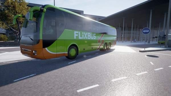 长途客车模拟图8