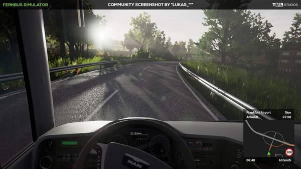长途客车模拟图12