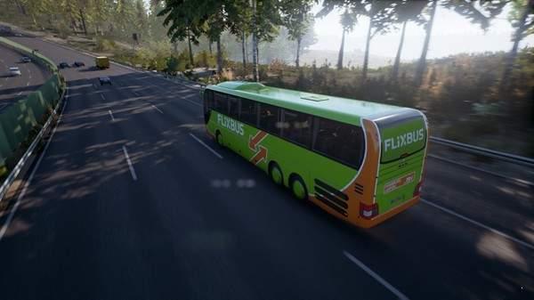 长途客车模拟图11