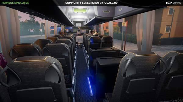 长途客车模拟图16