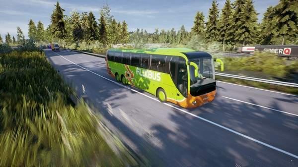 长途客车模拟图9