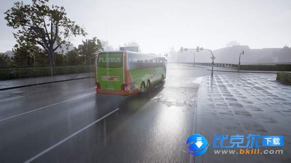 长途客车模拟图4