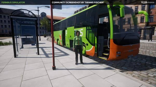 长途客车模拟图14