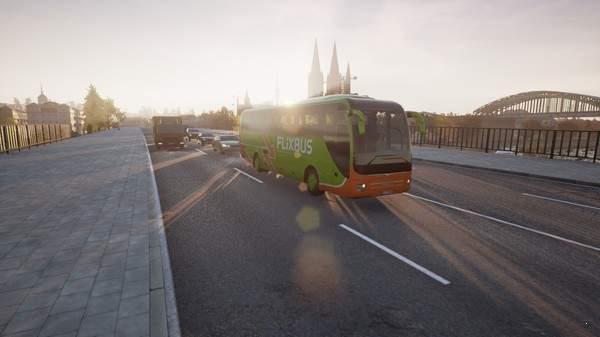 长途客车模拟图1