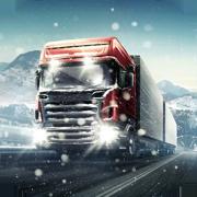 冬季卡车驾驶员模拟器