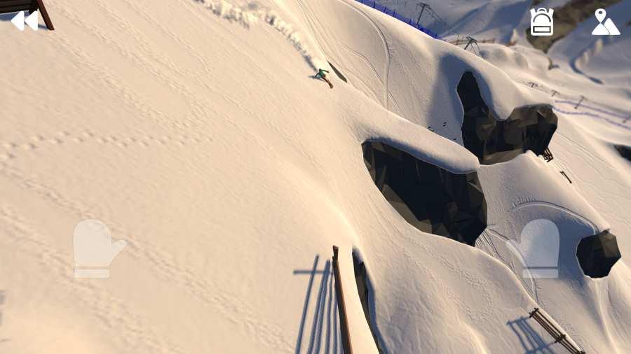 高山冒險滑雪圖1