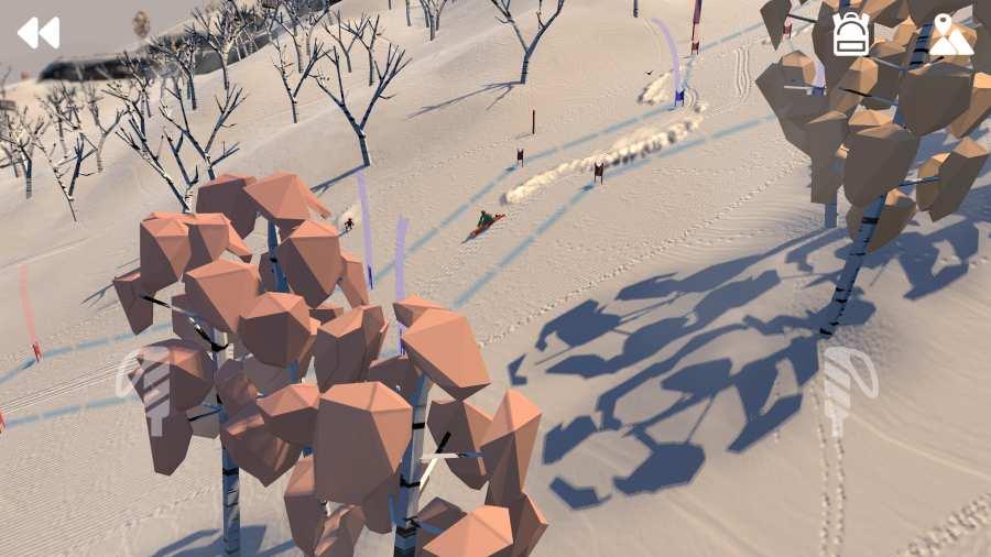 高山冒險滑雪圖4
