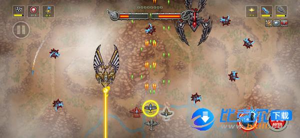 帝國神鷹飛行中隊手機版圖3