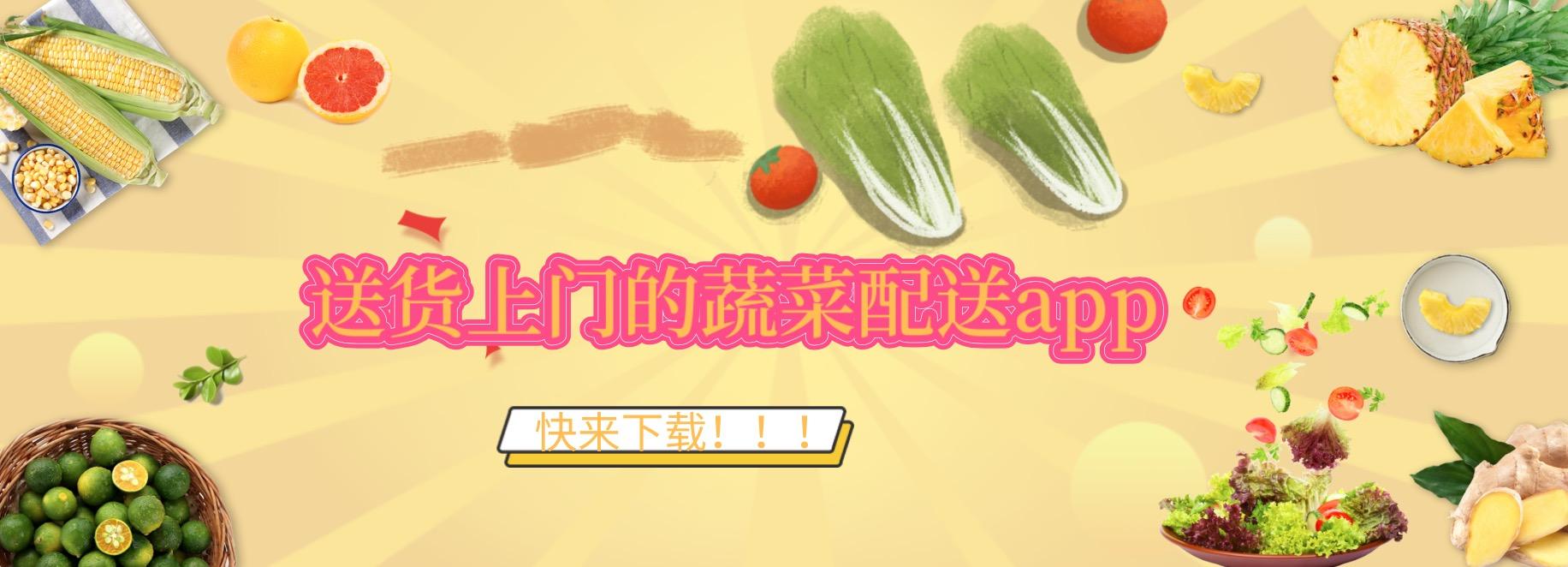 送货上门的蔬菜配送app