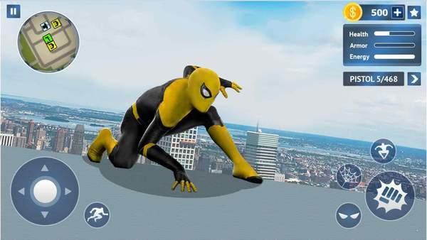飞行蜘蛛绳英雄图2