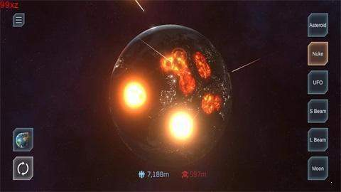 星球爆炸模拟器图2
