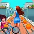地铁自行车跑酷