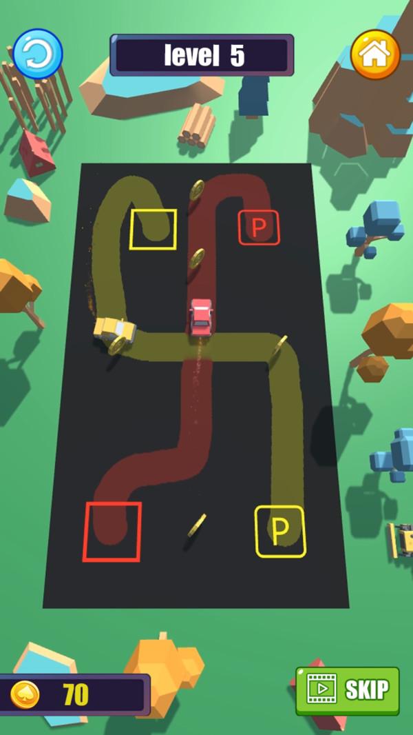 划线停车图2