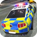 警车驾驶街头赛车