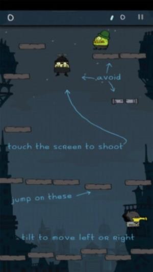 蝙蝠侠涂鸦跳跃图3