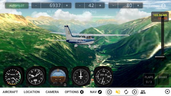 小型飞机模拟器图2