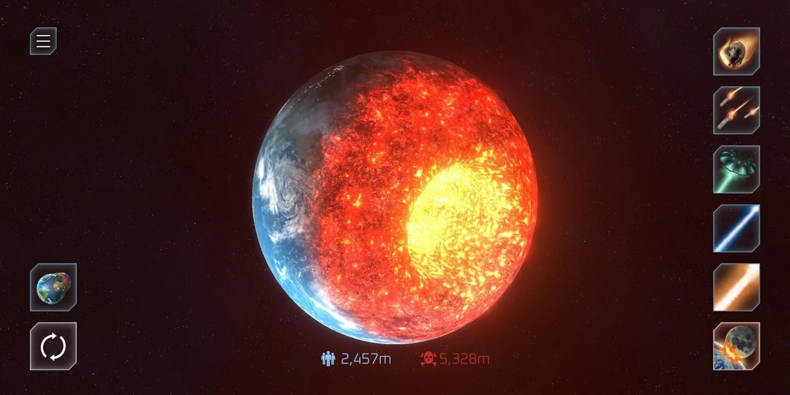 行星毀滅模擬器圖2