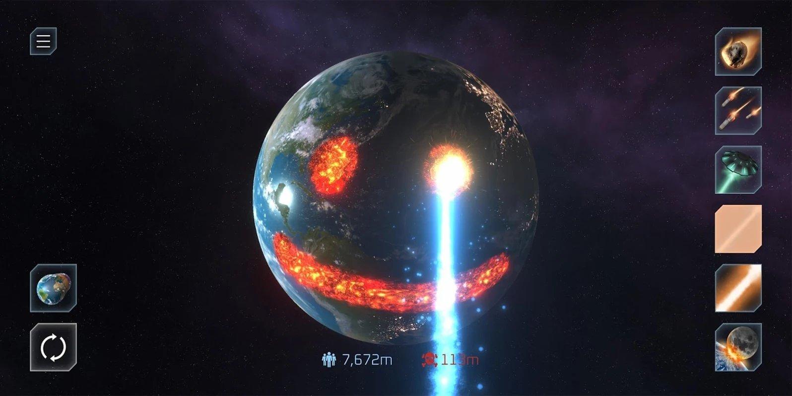 行星毀滅模擬器圖5