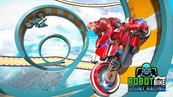 机器人摩托车特技图2