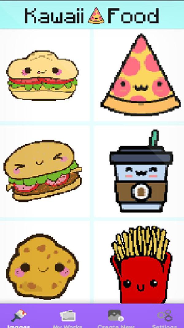 食品像素艺术图2