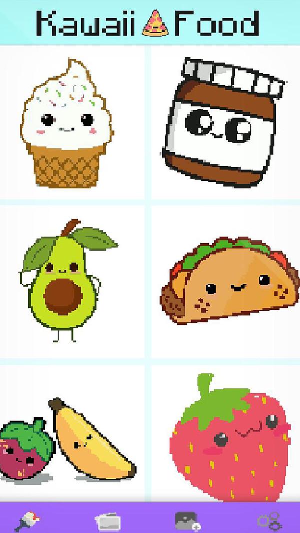 食品像素艺术图1