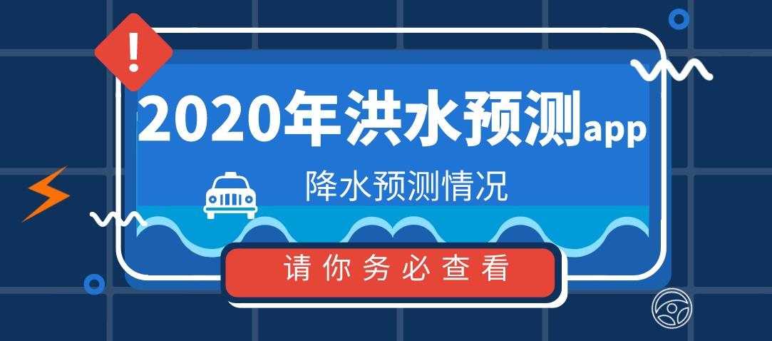 2020年洪水预测app